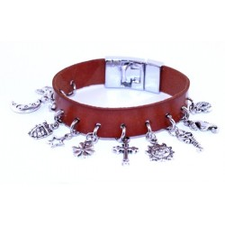 Bracelet Cuir VT367B
