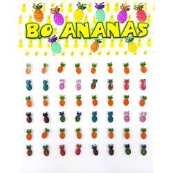B.O. puces enfants thème Ananas