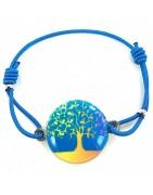 Bracelet élastique émaillé